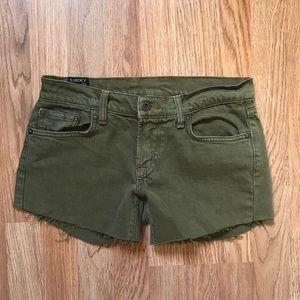 ☘️Lucky Brand Cut off Camo Shorts 4